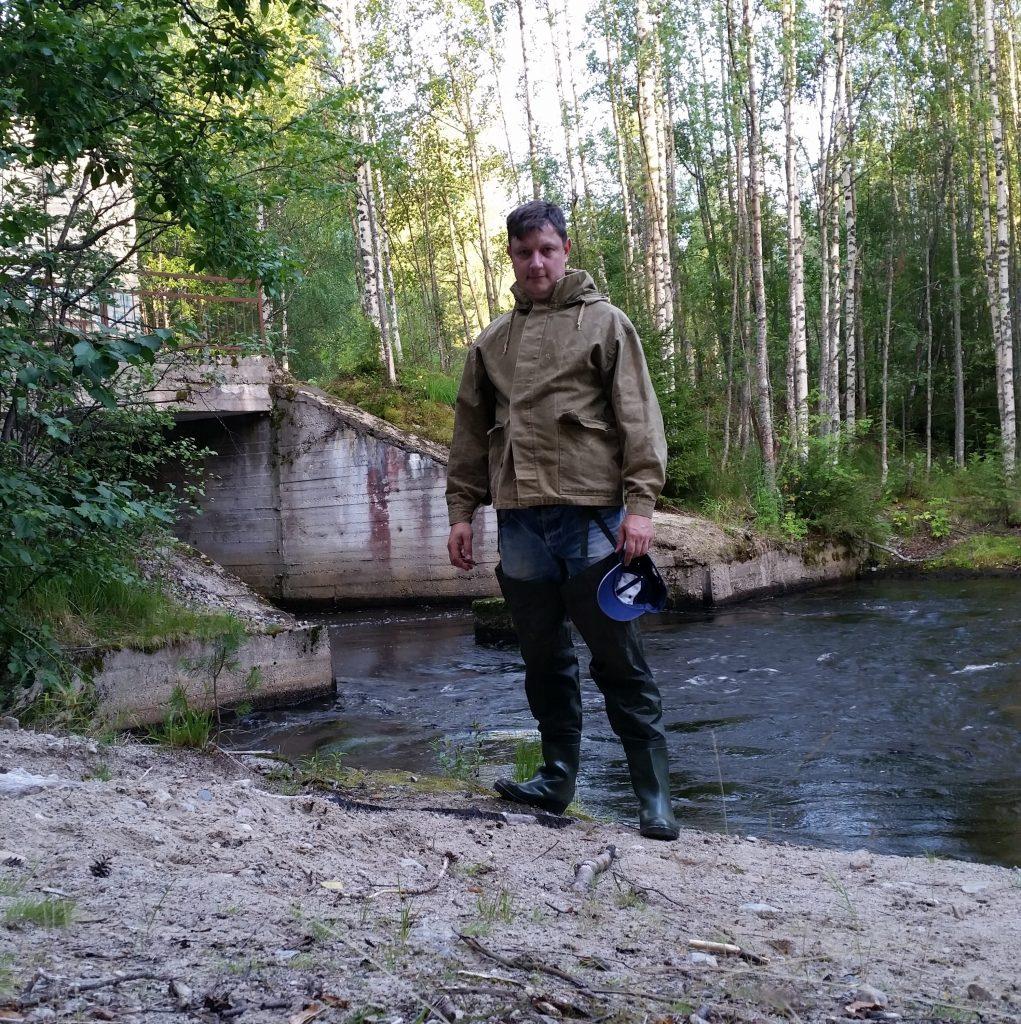 Плотина на реке Вола